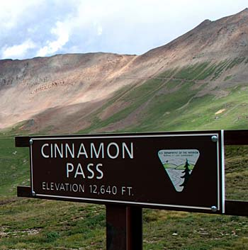 Cinnamon Pass, San Juan Mountains, Colorado