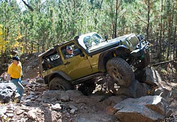 Black Hills Jamboree - he's rock crawling