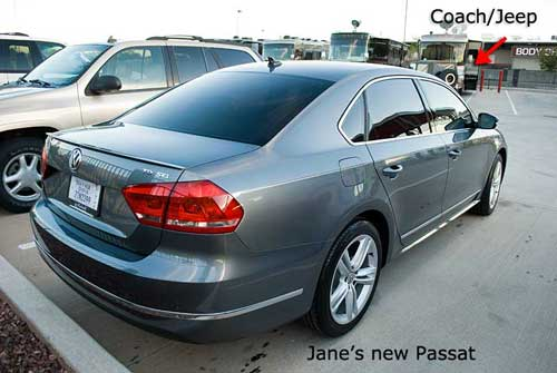 Jane's new Passat TDI SEL