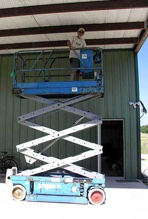 The 'new' 1999 Genie lift